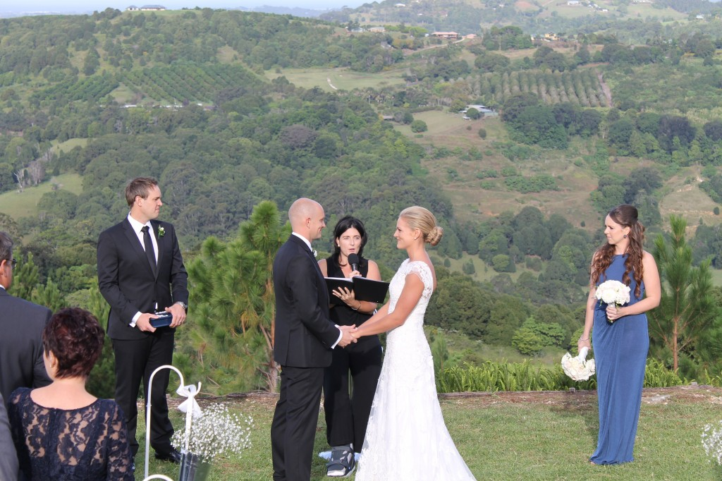 """Scott & Tanya May 9 2014 Summergrove Estate, Carool. """"Thank you so much again for conducting our ceremony, it was exactly what we had hoped for."""""""